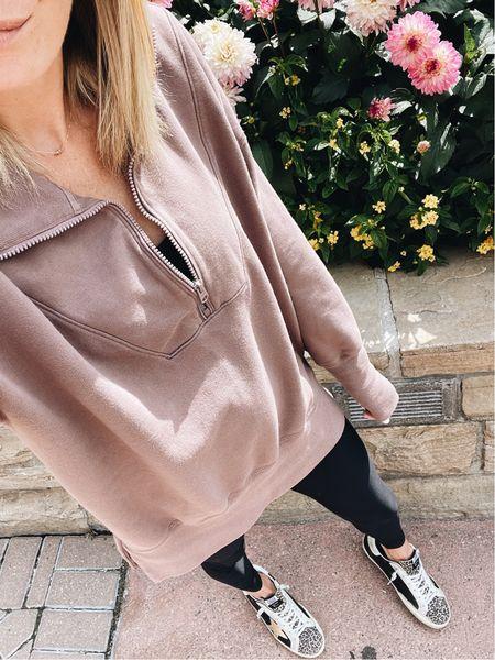 Under $70 quarter zip pullover ✔️   #LTKstyletip #LTKSeasonal #LTKunder100