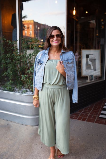The perfect green jumpsuit for summer http://liketk.it/3j4q0 #liketkit @liketoknow.it