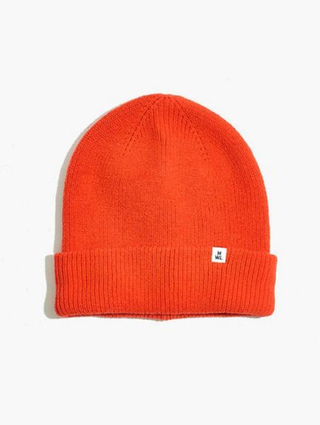 The best beanie for Fall- love the red/orange and tan color ways