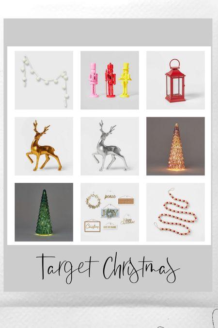 Target home, Christmas decorations   #LTKHoliday #LTKunder50 #LTKhome