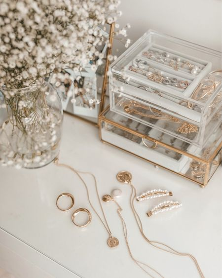 Coin necklace, pearl necklace, gold home accessories   http://liketk.it/2D82c #liketkit @liketoknow.it #LTKhome #LTKunder50