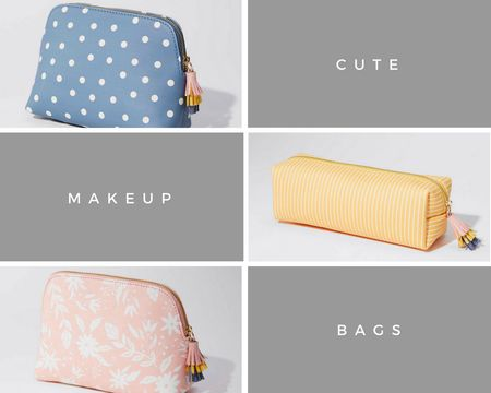😍 Adorable pouches @loft. I'll take one of each thanks! 30% off plus use code FEB419CC for an extra $50 off $100+. Valid on full-price and full-price promotional items only (aforementioned categories). Excludes Lou & Grey and sale/clearance items. Shipping tip: http://bit.ly/FREEshipover50 @liketoknow.it http://liketk.it/2v7gz #liketkit #LTKunder100 #LTKunder50 #LTKsalealert