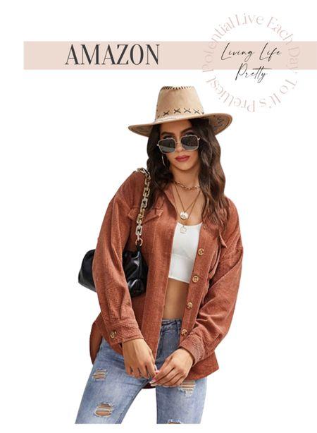 Amazon fashion Shackets Fall trends   #LTKSeasonal #LTKstyletip #LTKunder50