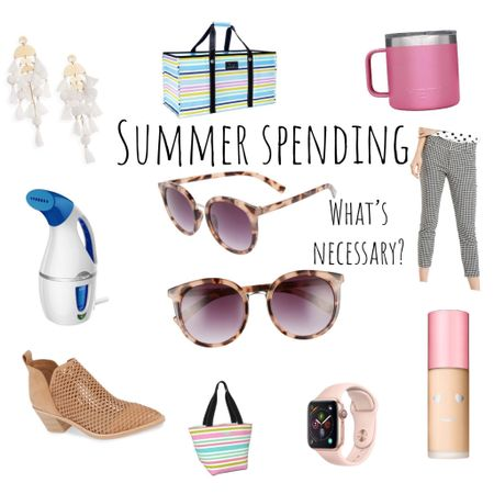 If you're a teacher and have the summers off, you can TOTALLY relate this 🙋🏼♀️ Having the summer off can lead to spending way too much necessary money, am I right or am I right?! I'm so excited for today's blog post because I'm talking ALL about purchases I've made this summer have been a total waste of money and totally worth the money 🙌🏻 LINK IN BIO ✨ You can also screenshot this post & follow me in the @liketoknow.it app to shop all of my must have items now 👉🏻 http://liketk.it/2DQSr  • • •  #liketkit #LTKbeauty #LTKfamily #LTKhome #LTKitbag #LTKshoecrush #LTKstyletip #LTKtravel #LTKunder50 #LTKunder100 #LTKsummer #worththemoney #musthave #summertime #summerspending #spendingmoney #backtoschool #falltransitional #savevssplurge