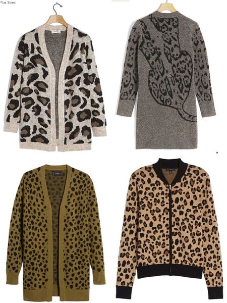 Sweater weather is finally here! Here's a round up of cute animal print cardigans/jacket. http://liketk.it/2ZocA #liketkit @liketoknow.it