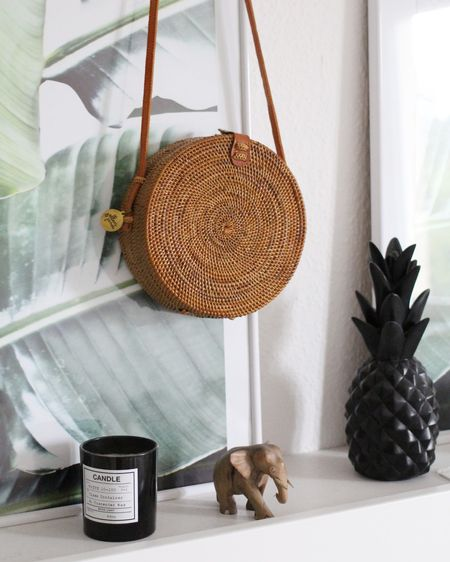 I couldn't resist my last Cravings post and ended up buying this beautiful round basket bag from an Etsy Shop based in Bali. How beautiful can a bag be? 😍 . Find more options in my latest blogpost (link in bio). You can also shop this bag with the @liketoknow.it app ✌🏻 . #LTKitbag #LTKstyletip#LTKunder100 #basketbag #fashiontrend #palmprint #bali #roundbag #korbtasche #rattanbag #liketkit http://liketk.it/2sa6s