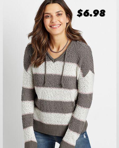 Striped sweater warm and cozy / Maurices  http://liketk.it/3k0gm #liketkit @liketoknow.it #LTKunder50 #LTKstyletip #LTKsalealert