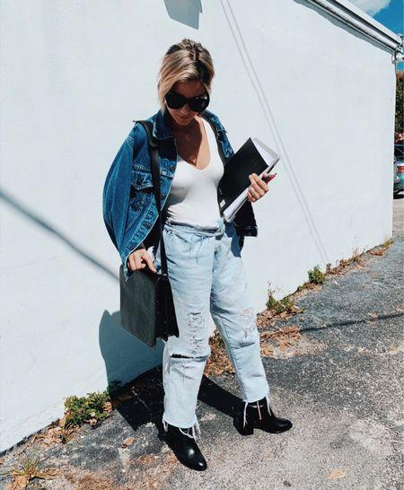 Blue jeans forever.   #LTKstyletip #LTKFall #LTKworkwear