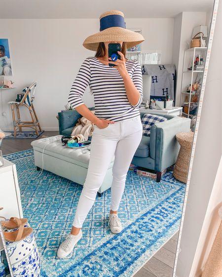http://liketk.it/2PcGQ #liketkit @liketoknow.it white jeans denim summer look