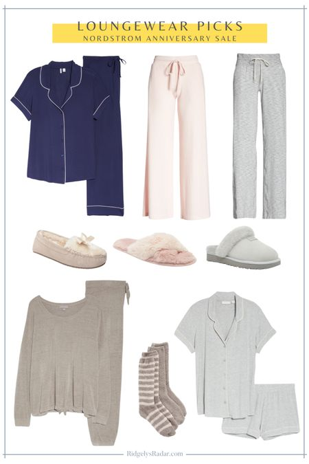 Loungewear favorites from the Nordstrom Anniversary Sale (public access to the sale July 28-August 9!)  #nsale #nordstromsale #nordstrom #loungewear   #LTKstyletip #LTKsalealert #LTKhome