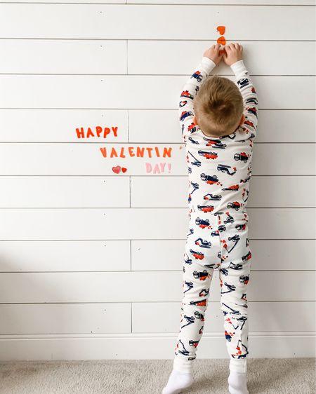 Happy Feb.1st!❤️ Truckloads of love this month😆   Linked a few cute valentine jammies I came across in the LTK app. http://liketk.it/37fbv #liketkit @liketoknow.it #LTKVDay #LTKkids