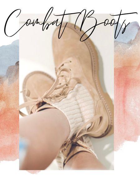 Combat boots for the win! http://liketk.it/30gDl #liketkit @liketoknow.it #LTKstyletip #LTKshoecrush