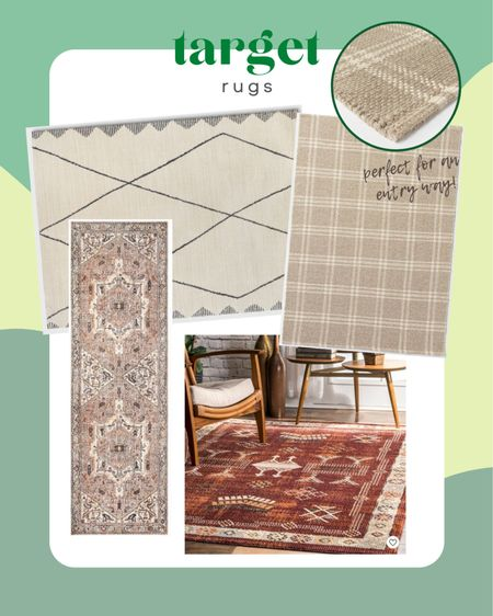 Target is one of my favorite places to buy rugs because they are fairly affordable compared to other brands and I like the patterns!   #LTKhome