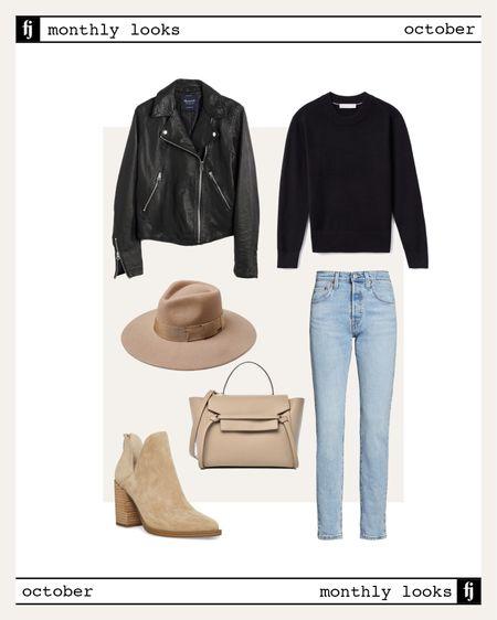 October fall outfit idea #falloutfits  #LTKstyletip #LTKunder50 #LTKunder100