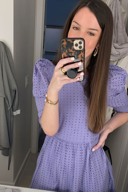 Love this eyelet Spring dress so much, I bought it in 3 colors. Black and White too plus it's under $30! It would be perfect for Easter, a bridal shower or baby shower too!  #LTKSeasonal #LTKSpringSale #LTKunder50