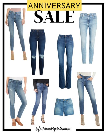 Do you like designer denim like AG, Frame, Good American and Paige but not the price tag? This is the time to grab a pair! #nsale #nordstrom #anniversarysale http://liketk.it/3jjM0 #liketkit @liketoknow.it #LTKsalealert #LTKstyletip