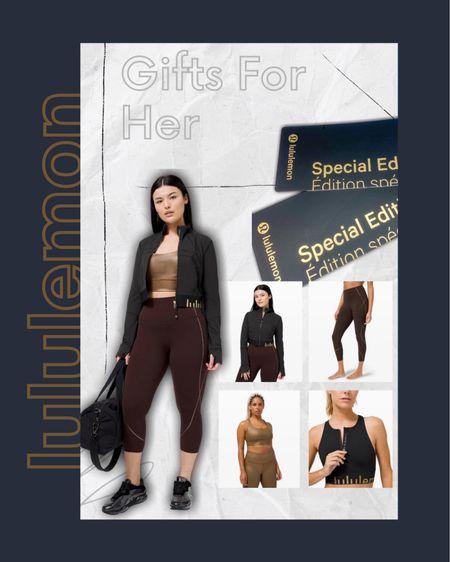 lululemon gift guides on the blog today! Shop gifts for her here! http://liketk.it/32jWR #liketkit @liketoknow.it #StayHomeWithLTK #LTKsalealert #LTKfit