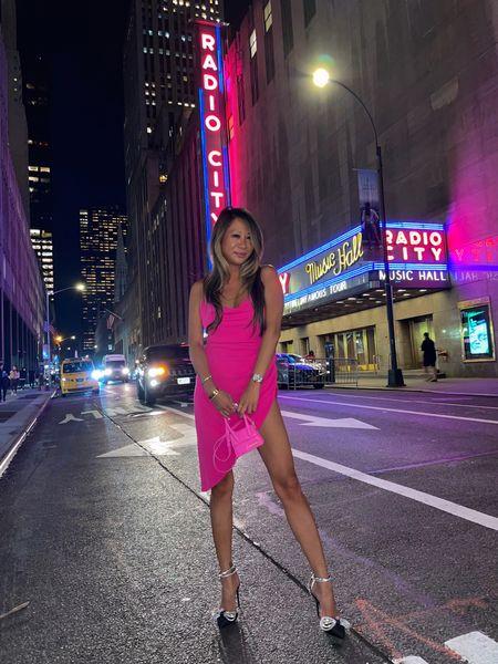 Girls night out dress, outfit of the night, pink dress, bachelorette dress,   #LTKHoliday #LTKSeasonal #LTKstyletip