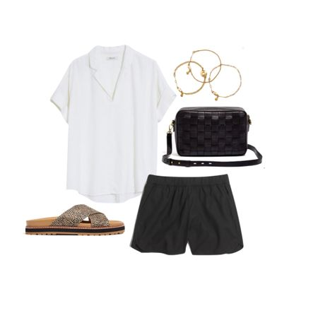Cute and casual summer look. Shoes are on SALE.     #LTKDay #LTKstyletip #LTKsalealert