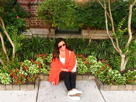 LIVING in this slouchy #freepeople orange cardigan that screams fall 🍂🍁🧡💛    You can instantly shop my looks by following me on the LIKEtoKNOW.it shopping app    http://liketk.it/2WVvW #liketkit @liketoknow.it  #cheeryandcharming #LTKbeauty #LTKfit #cardigan #fashion #style #fashionstyle #fitness #fit #freepeople #louisvuitton #lifestyleblogger #blog #lifestyle