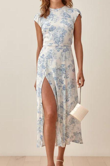 Adore this blue & white dress  #LTKworkwear #LTKHoliday #LTKwedding