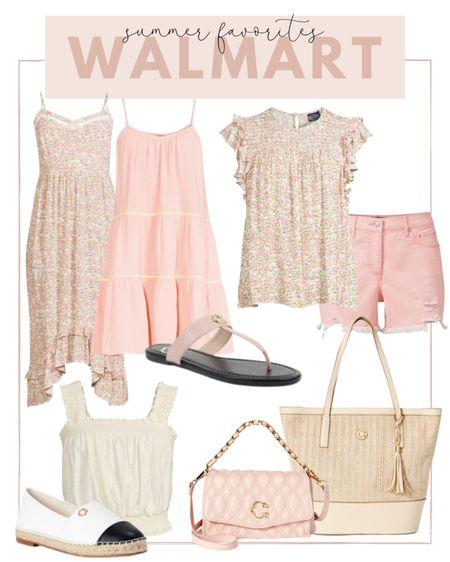 Loving the dainty floral print in Walmart's summer collection!   #LTKstyletip #LTKsalealert #LTKunder100