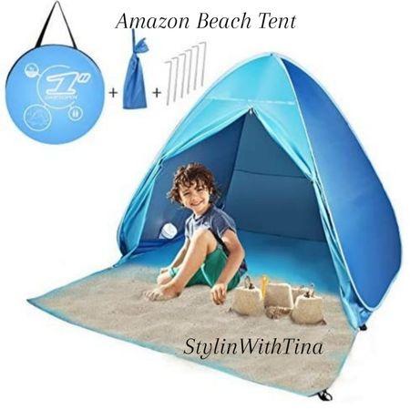 Perfect Beach Tent for family Beach trip / vacation. 5star review.  #beachessentials#beachtent #tent#vacationneeds http://liketk.it/3hNdy #LTKsalealert #LTKstyletip #LTKunder50 #LTKunder100 #LTKtravel #LTKfamily #LTKswim #LTKbaby #LTKkids @liketoknow.it #liketkit
