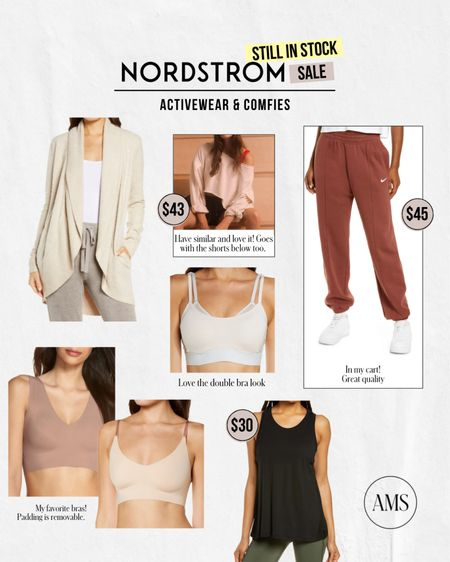 NORDSTROM ANNIVERSARY SALE ⭐️ Still in Stock: Activewear & Comfy Styles! Love these looks for lounge, travel, and workouts!  #LTKunder100 #LTKsalealert #LTKfit