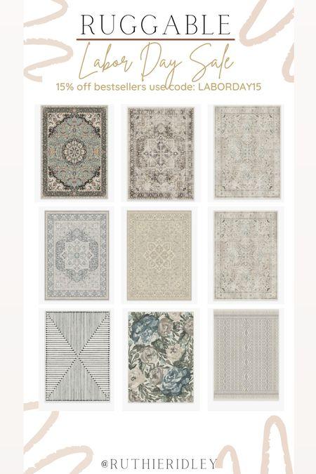 Ruggable 15% off bestsellers use code: LABORDAY15🙌🏾🙌🏾  Ruggable rugs Labor Day sale living room design living room decor  #LTKsalealert #LTKstyletip #LTKhome