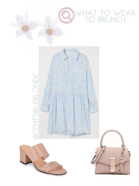 What to wear to brunch, Spring outfit, Church outfit, What to wear to church, blush   http://liketk.it/3hgnJ #liketkit @liketoknow.it #LTKitbag #LTKshoecrush #LTKunder50