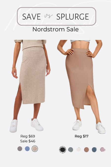 http://liketk.it/3jRIo Nordstrom NSale favorite picks and dupes midi length skirt with side slits @liketoknow.it #liketkit #LTKsalealert #LTKunder50 #LTKworkwear