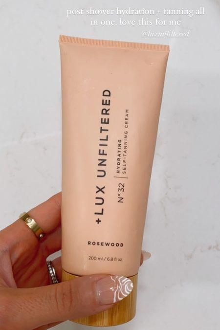 Lux unfiltered gradual self tanning lotion  #LTKbeauty #LTKSeasonal #LTKunder50