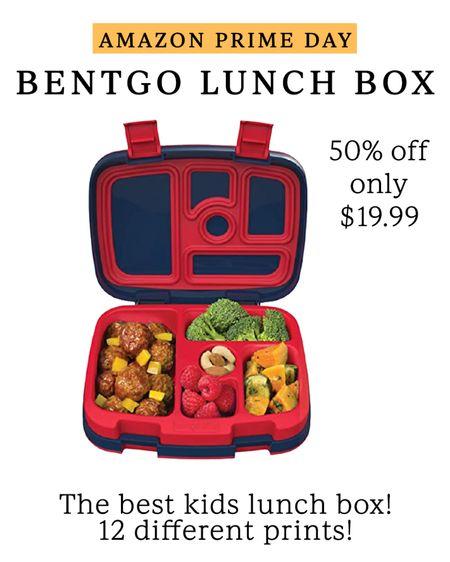 Bentgo kids lunch box 50% off // Amazon prime day finds #LTKkids #LTKsalealert #LTKunder50 #liketkit @liketoknow.it http://liketk.it/3i79v