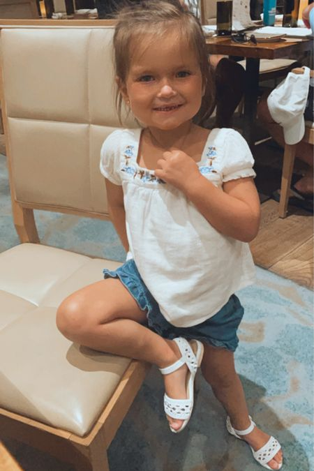 Mini me fashion alert 🚨 mixing peasant tops with shorts #janieandjack #kidfashion #littlegirlsoutfits http://liketk.it/3gzQF #liketkit @liketoknow.it #LTKkids #LTKsalealert #LTKfamily @liketoknow.it.family Shop your screenshot of this pic with the LIKEtoKNOW.it shopping app