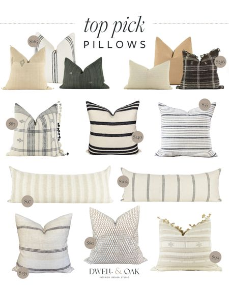 Great quality pillow covers! These neutral pillow covers from Etsy will add the perfect finishing touch in your home #pillowcovers   #LTKstyletip #LTKhome