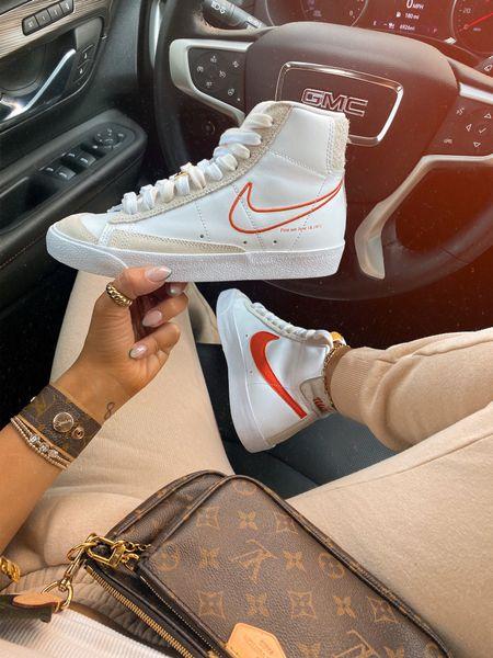 Women's sneakers Nike White sneakers Watch band  Joggers Activewear   #LTKstyletip #LTKGifts #LTKshoecrush
