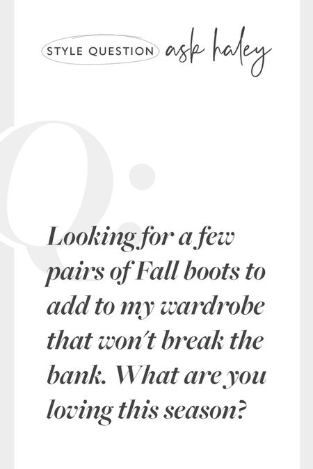 Fall boots on a budget, boots for fall   #LTKeurope #LTKstyletip #LTKSeasonal