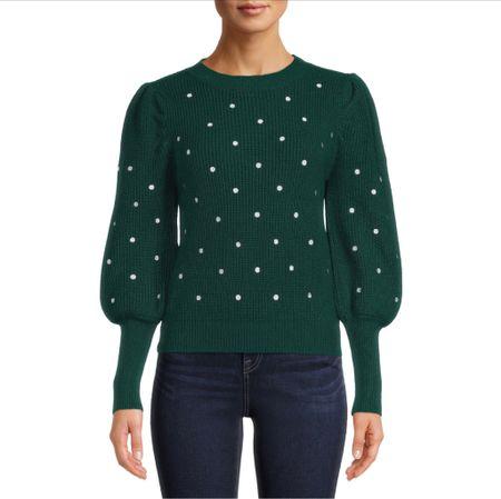 Walmart finds , sweater , fall outfits   #LTKHoliday #LTKSeasonal #LTKunder50