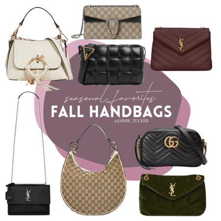 Handbag must-haves for the fall season. Best sellers, current favorites and more! | #handbags #luxurypurses #luxuryhandbags #designerpurses #designerbags #bestsellers #seasonalpurses #seasonalessentials #fallaccessories #JaimieTucker   #LTKitbag #LTKstyletip #LTKSeasonal