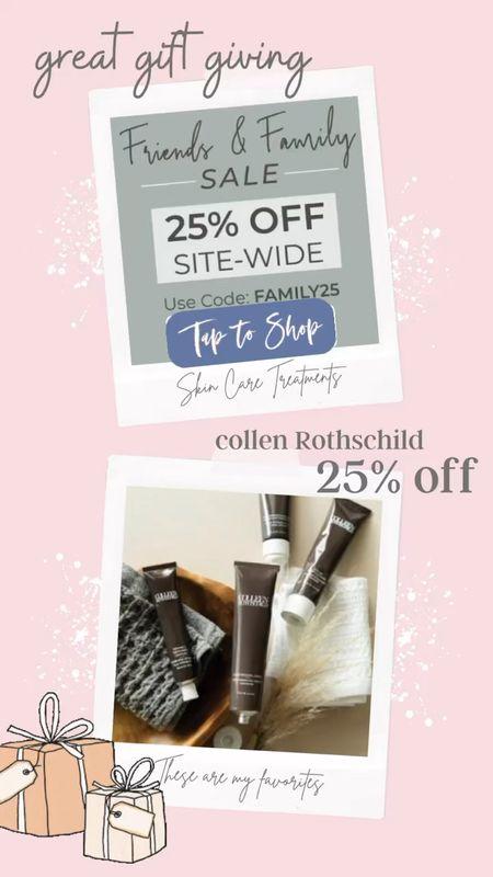 Colleen Rothschild 25% off  Site-wide Sale . Great gift giving .   #LTKbeauty #LTKGiftGuide #LTKsalealert