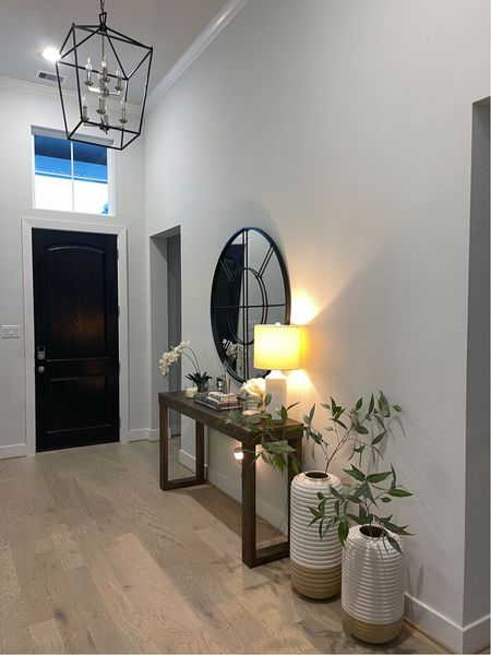 Home decor foyer entrance mirror console table furniture   #LTKunder100 #LTKhome #LTKfamily