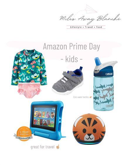 Amazon prime day kids! water bottle that Cal loves, & great kids travel essentials with the tablet! http://liketk.it/3i4Yn #liketkit @liketoknow.it #LTKsalealert #LTKunder100 #LTKkids
