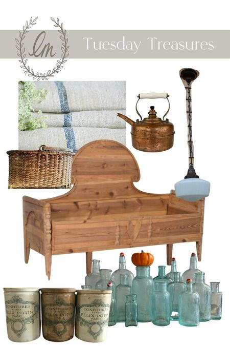 Did you check out this week's Tuesday Treasures? These are antique finds that are available to shop on the internet!   #LTKhome