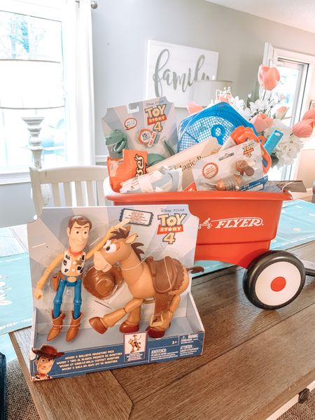 Easter basket ideas with wagon and toy story @liketoknow.it #liketkit #LTKkids #LTKfamily #LTKbaby http://liketk.it/3bb1q Shop my daily looks by following me on the LIKEtoKNOW.it shopping app