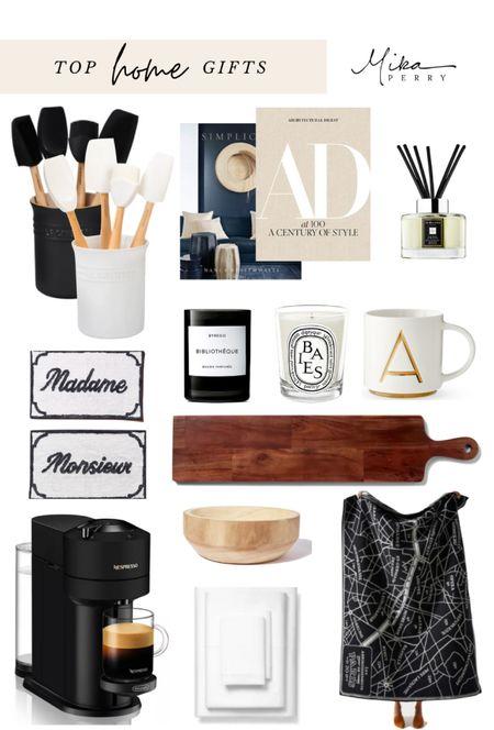 My top HOME gifts gift guide 🎄Candles, Nordstrom, Bloomingdales, Anthro, Jo Malone, Diptyque, a espresso coffee maker, kitchen, books, best sheets, home fragrance, monogram mug, Williams Sonoma   #LTKgiftspo #LTKhome #LTKsalealert