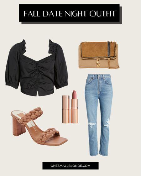 Fall date night outfit 🖤  #LTKshoecrush #LTKstyletip #LTKunder100