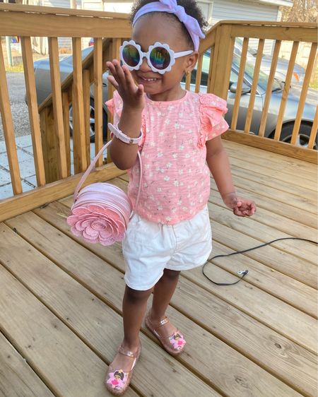 Toddler summer fashion and spring outfit inspiration! Look at my princess styling ! http://liketk.it/3cmxs #liketkit @liketoknow.it #LTKunder50 #LTKkids #LTKbaby