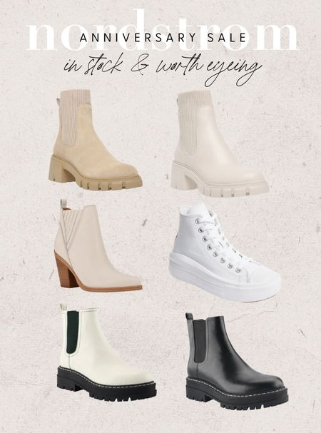 Nordstrom anniversary sale sneakers and boots worth eyeing! Sale opens to public access today and runs through 8/8