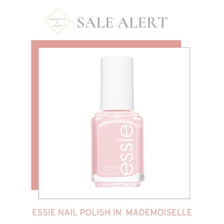 An epic #dealoftheday the iconic essie Nail Polish in the shade Mademoiselle is 30% off! #findoftheday #beautyblogger  #LTKsalealert #LTKunder50