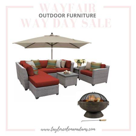 #LTKSaleAlert Way Day Sale at Wayfair Outdoor Furniture - fire pit, lounge set http://liketk.it/3e8Wh #liketkit @liketoknow.it #LTKhome